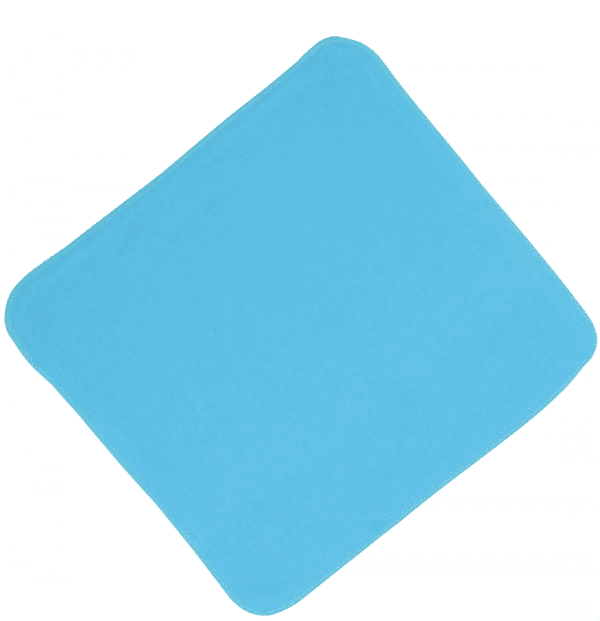 Batista Scutec Din Glat, Bleu Aqua