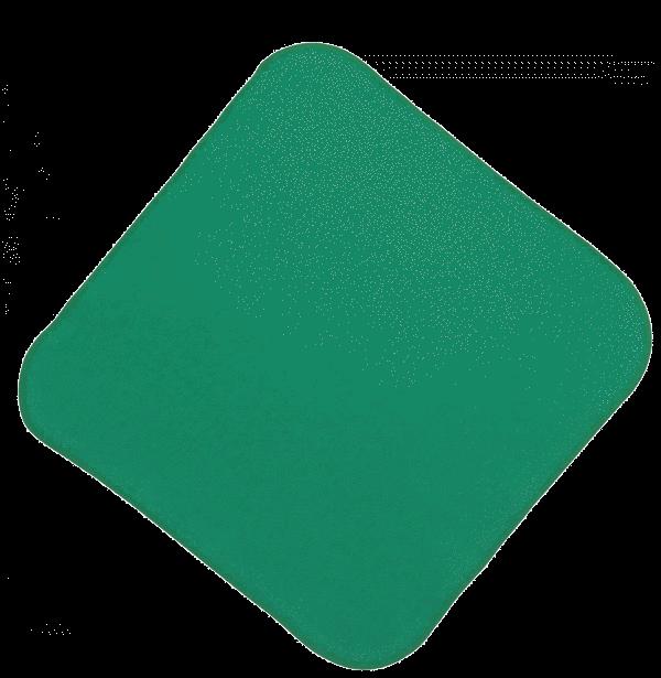 Batista Scutec Din Glat, Verde