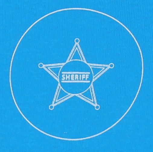 "Body Bebe Model Petrecut Cu Maneca Lunga Turqois "" Sheriff """