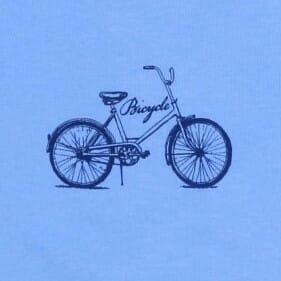 """Body Copii, Cu Maneca Lunga, Bleu """" Bicicleta """""""