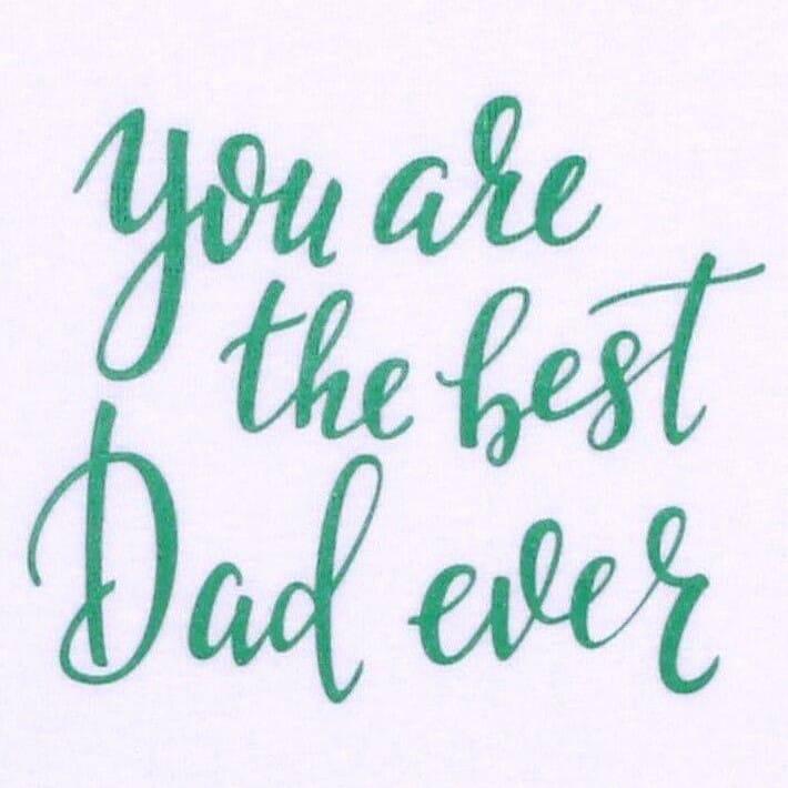 """Body Copii Cu Maneca Lunga, """"the Best Dad Ever """""""