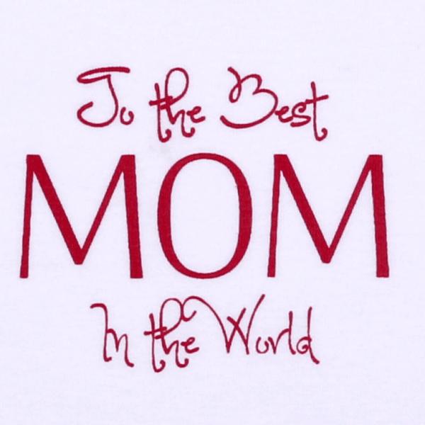 "Body Copii Cu Maneca Lunga, ""the Best Mom In The World """