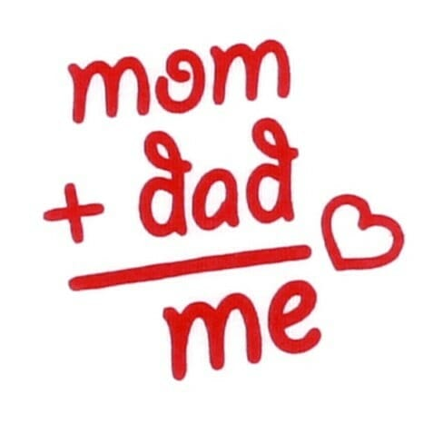 "Body Copii Maneca Scurta "" Mom+dad Is Me"""