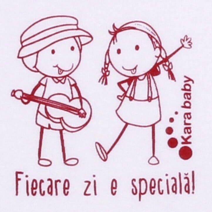 "Body Copii Tip Maiou, Mesaj ""fiecare Zi E Speciala!"""