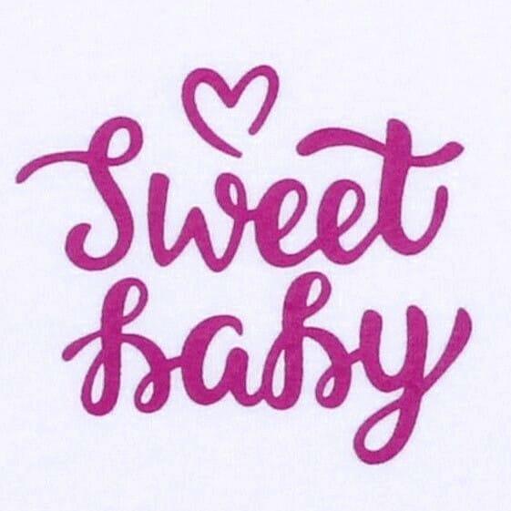 """Body Copii Tip Maiou, Mesaj """"sweet Baby"""""""