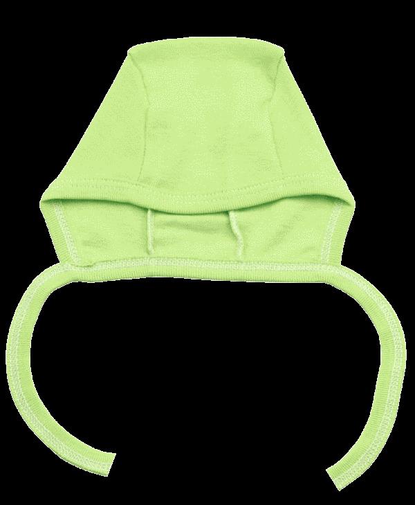 Caciulita Bebe Cu Siret Verde Fistic