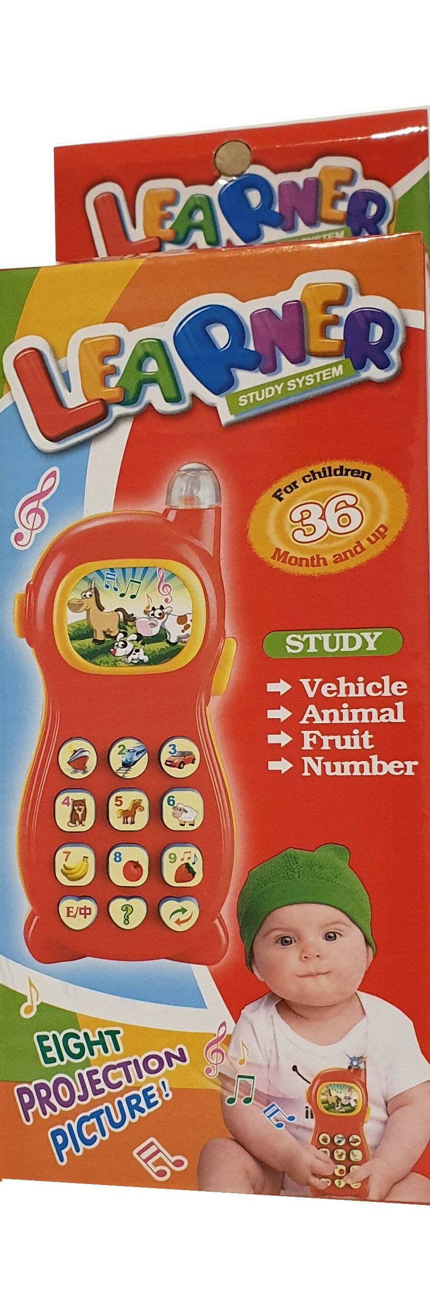 Jucarie Bebe Telefon Bebe Cu Lumini Si Sunete.
