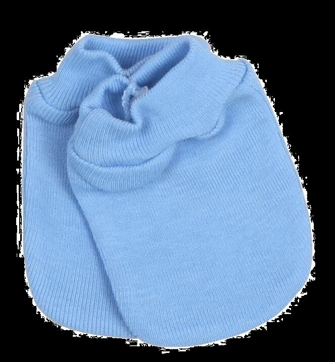 Manusi Nou Nascut De Culoare Bleu