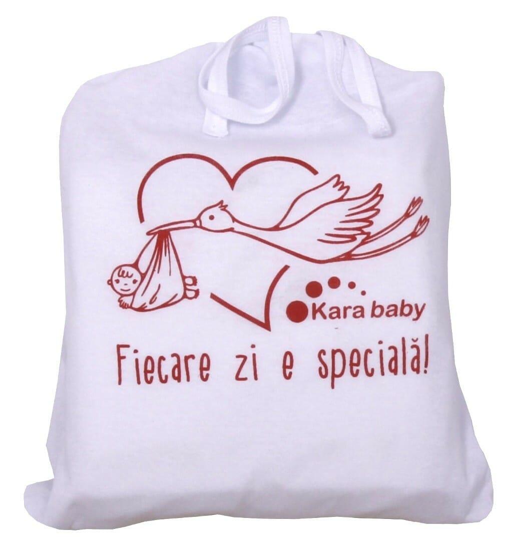 Pachet Maternitate Imprimeu Rosu