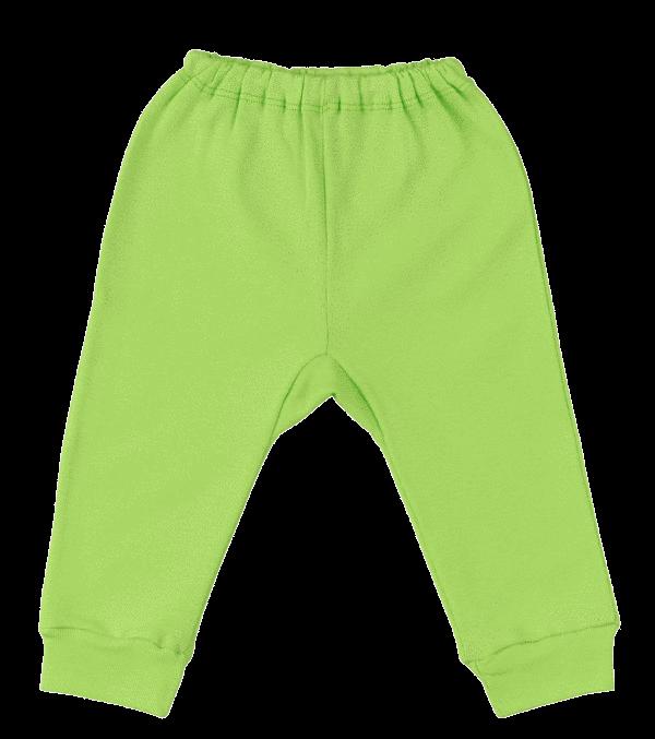 Pantalon Cu Manseta Verde Fistic