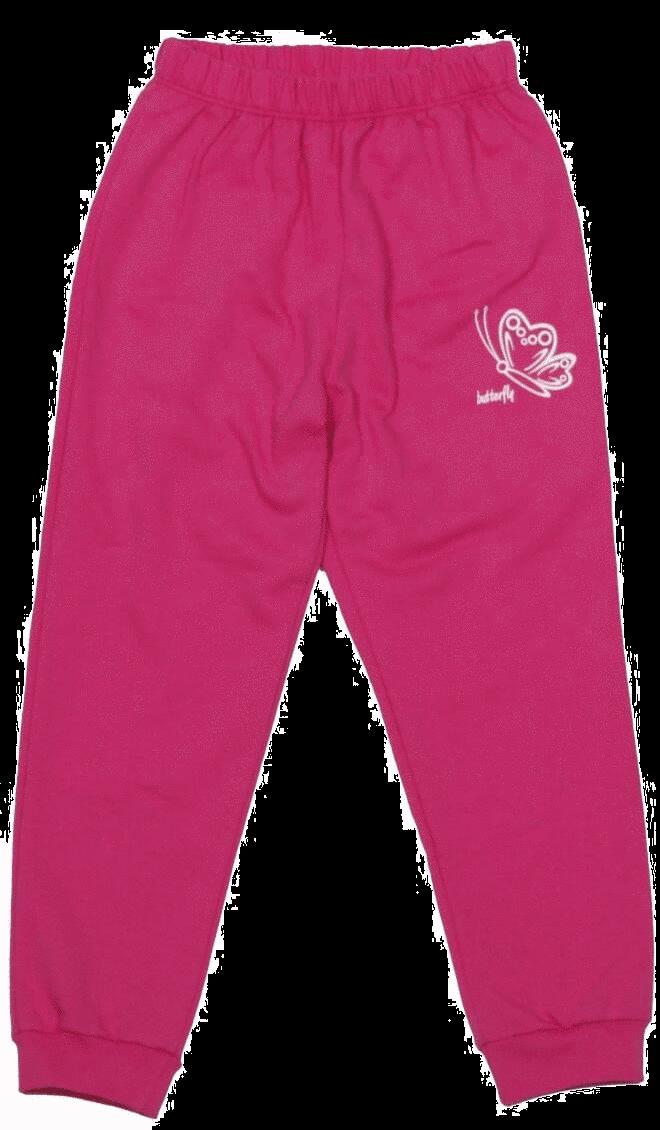 Pantalon Subtire De Trening Pentru Bebe, Ciclam