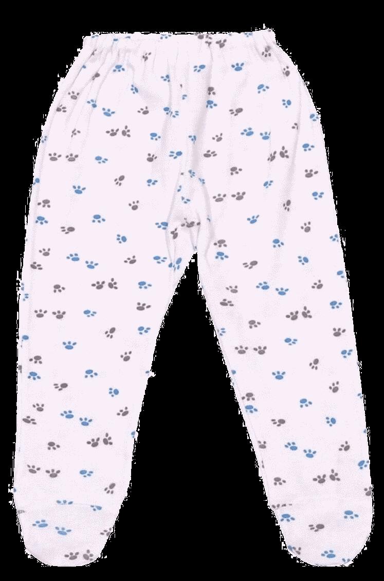 Pantalonasi Bebe Cu Botosei, Labute Gri Si Turqois