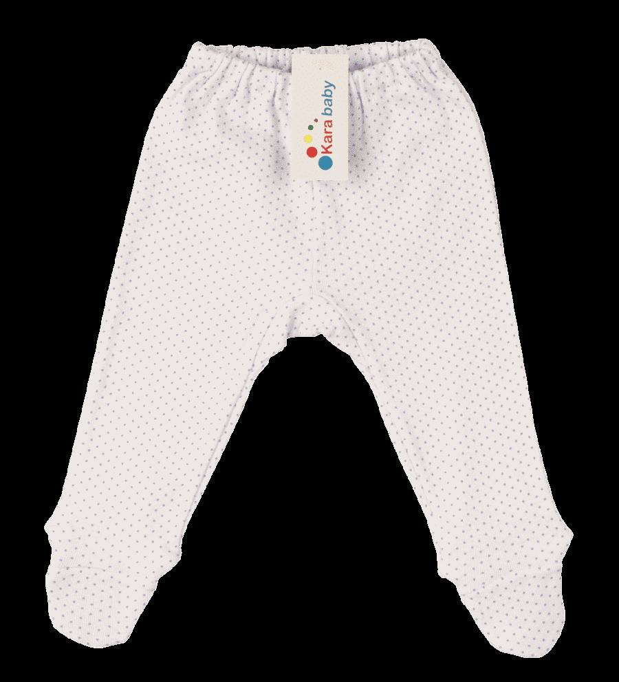 Pantalonasi Cu Botosei, Albi Cu Buline Lila