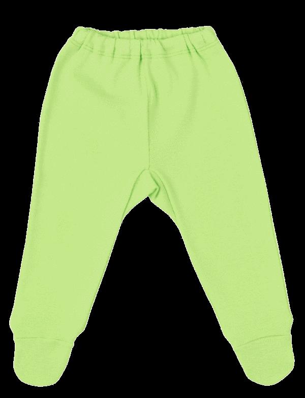 Pantalonasi Cu Botosei, De Culoare Verde Fistic