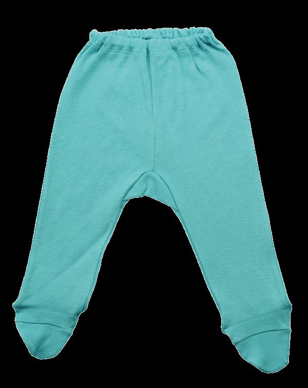 Pantalonasi Cu Botosei, De Culoare Verde Mint