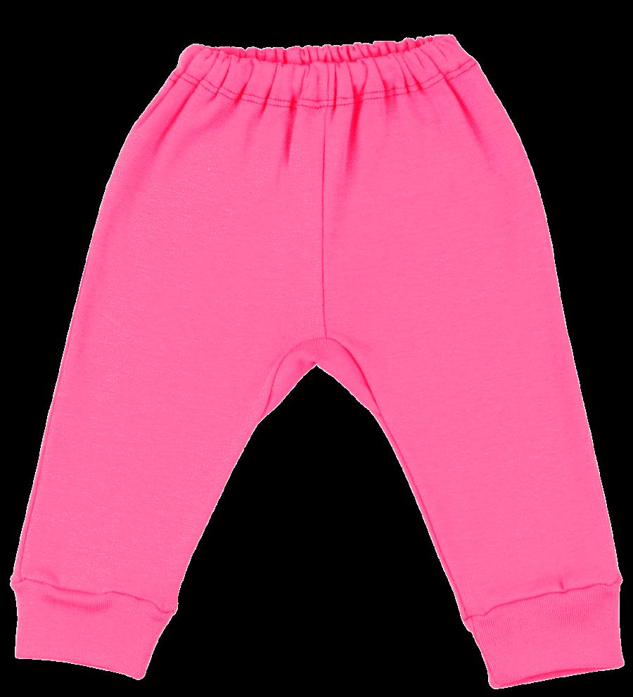 Pantaloni Bebe Cu Manseta, Ciclam