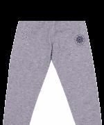 Pantaloni Vatuiti De Trening Pentru Copii, Gri Melanj