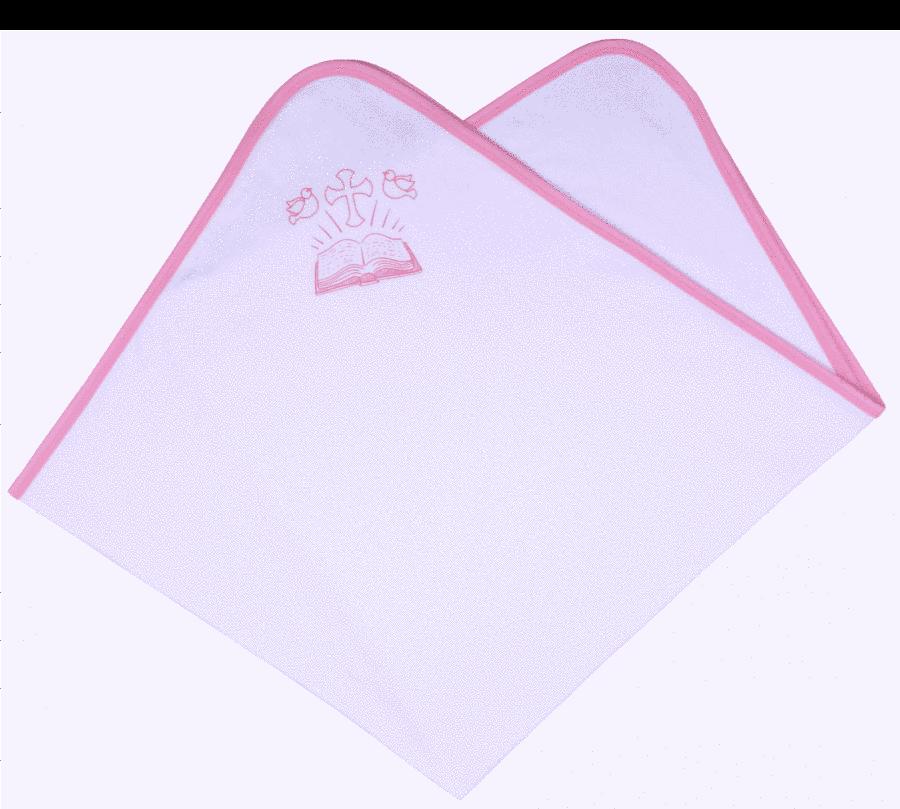 Paturica Botez Cu Imprimeu Roz