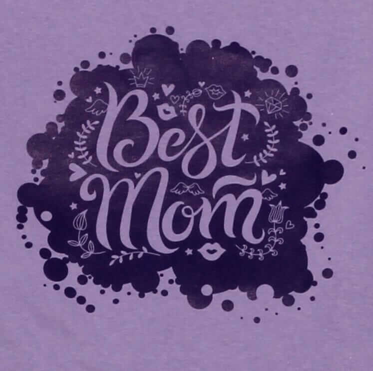 """Pijama Bebe Cu Maneca Lunga, Lila, """"best Mom"""""""