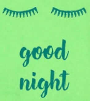 "Pijama Bebe Cu Maneca Lunga, Verde Fistic ""good Night"""