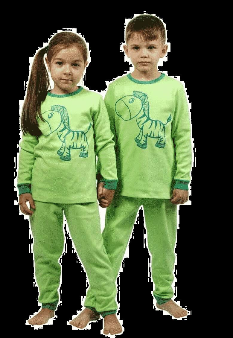 """Pijama Groasa Pentru Bebe, Fistic, """"calut"""""""