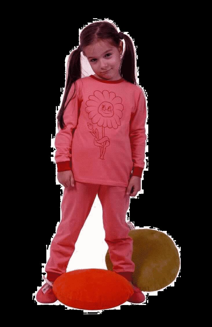 """Pijama Pentru Bebe, Cu Maneca Lunga, Frez """"floarea Soarelui"""""""