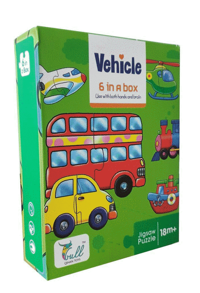 "Puzzle Bebe ""transport"""
