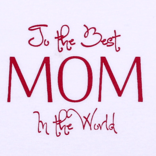 "Salopeta Bebe Maneca Lunga, "" The Best Mom In The Word """