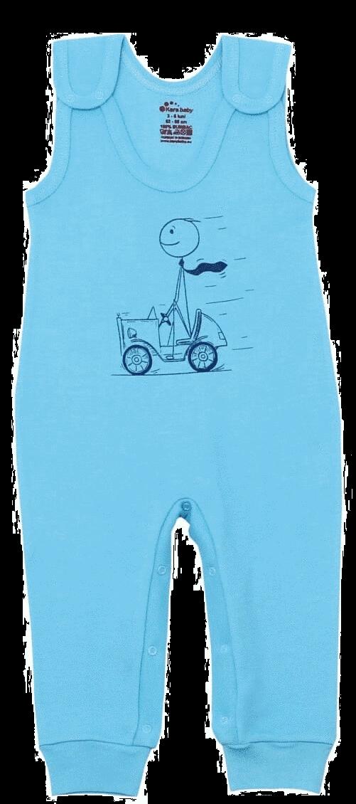 Salopeta Bebe Tip Maiou, Bleu Aqua