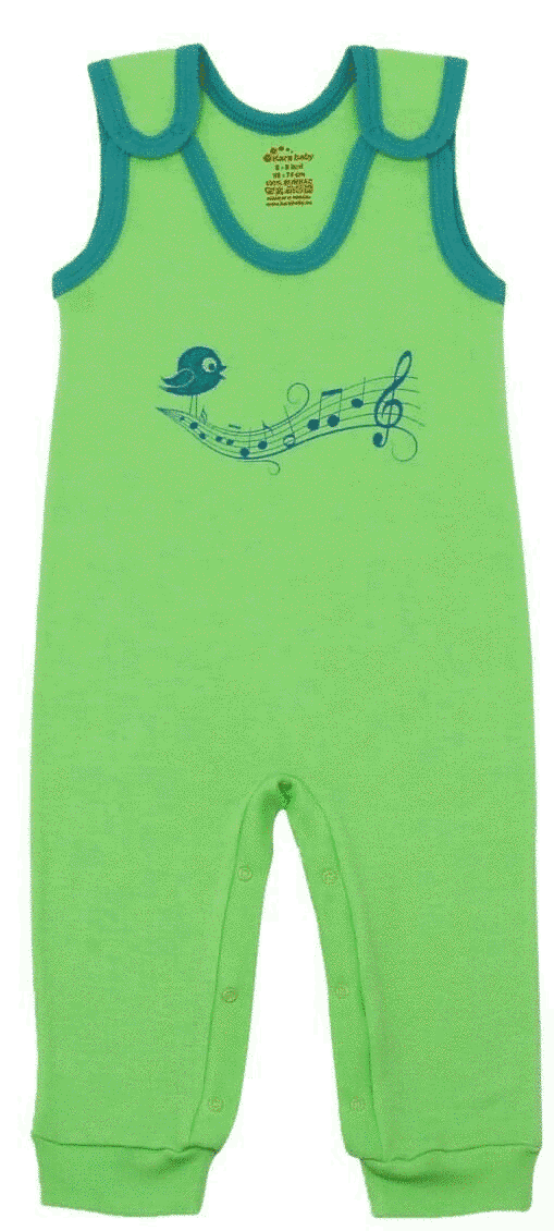 Salopeta Bebe Tip Maiou, Verde Fistic