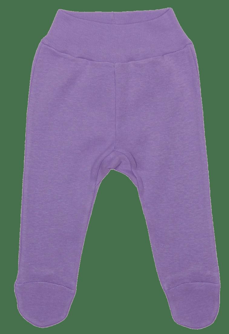 Pantaloni cu botosei, pentru prematuri, lila