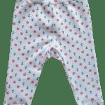 """Pantaloni cu botosei, pentru prematuri, """"ancore si timone"""""""