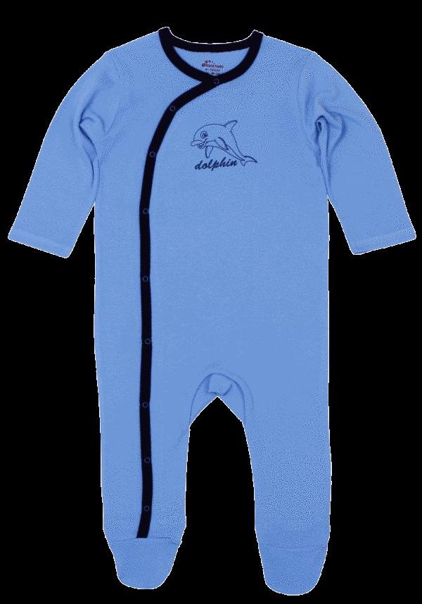Salopeta asimetrica prematuri, bleu