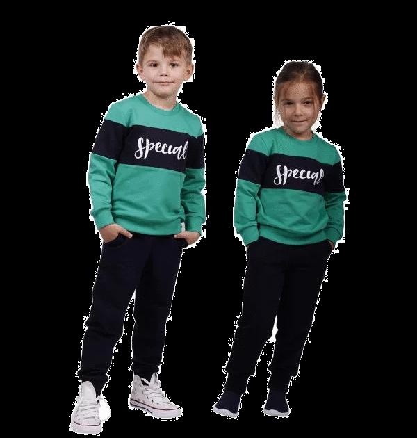 """Trening bebe, """"Special"""", verde/bleumarin"""