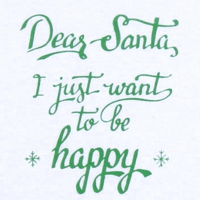 """Body Bebe Model Petrecut, """"dear Santa..."""""""
