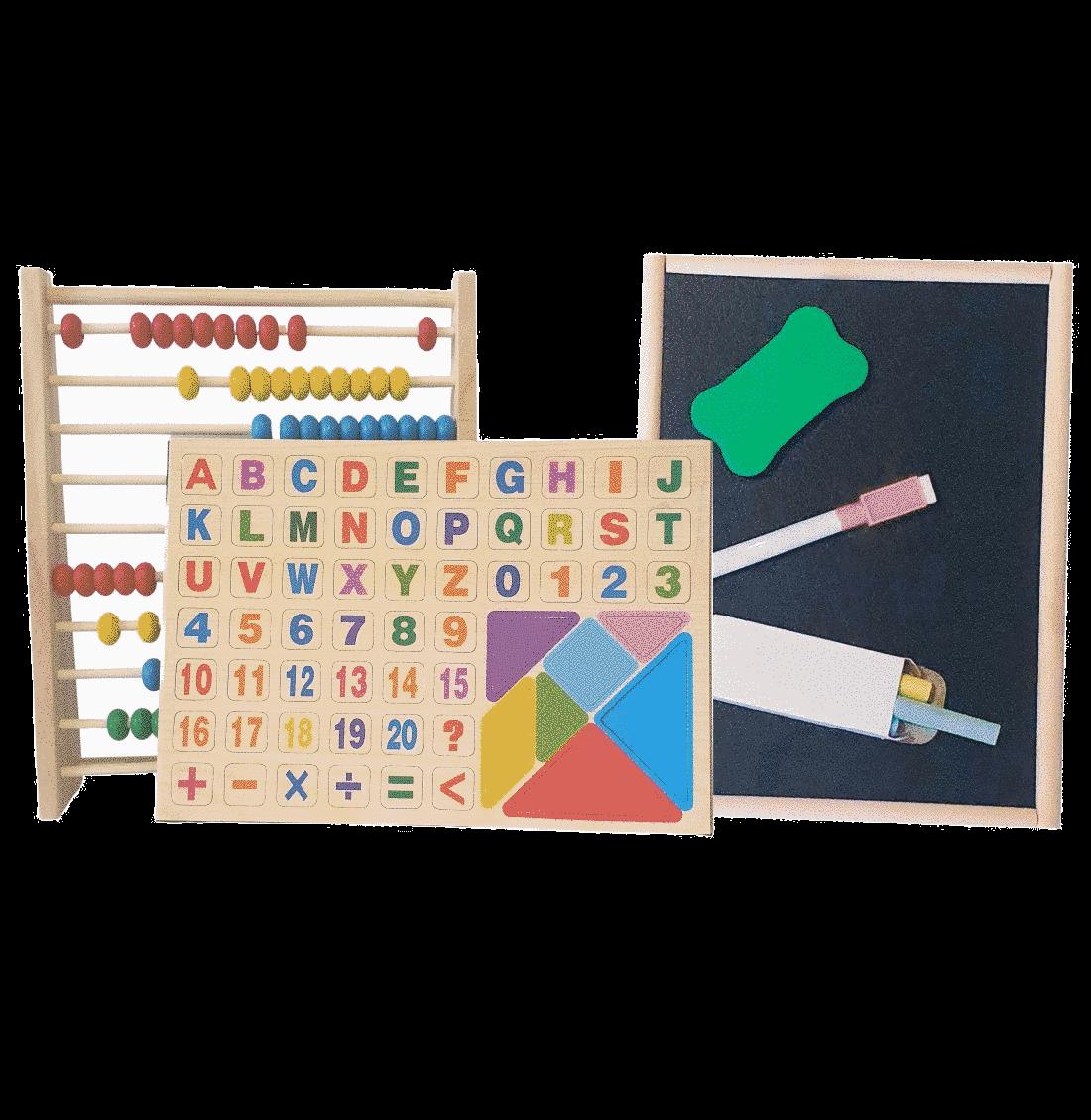 Jucarie educativa (abac si tablita)