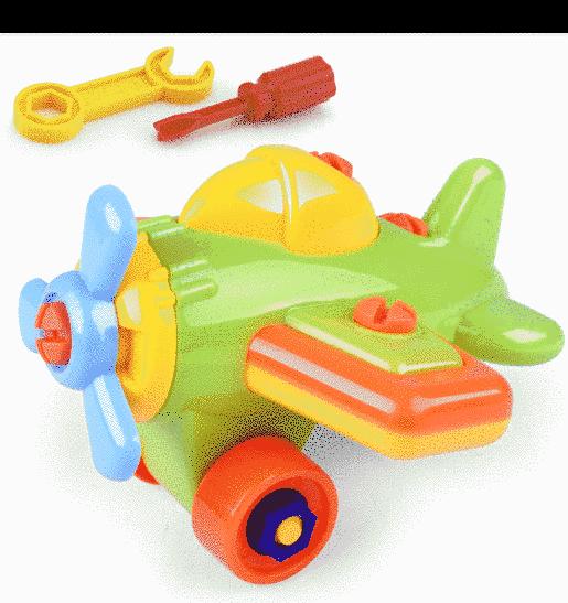 Avion demontabil-jucarie bebe