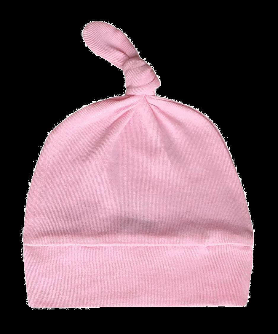 Fes cu nod pentru bebe, roz